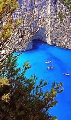 Navagio.. Zakynthos Island, Greece