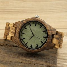 BOBO BIRD All Natural Wood Watch for Men Brand Luxury Wooden Watches Reloj Masculino Wood Wrist Watches Best Gifts Items