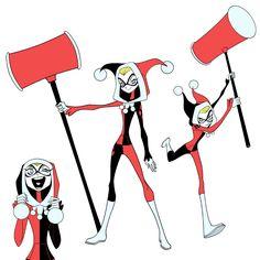 "Harley Quinn Reboot ""animated"" by MatthewRHumphreys.deviantart.com on @deviantART"