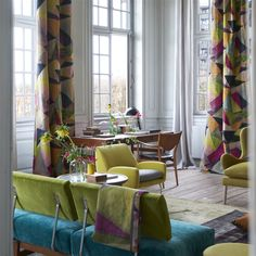 Get expert advice at Designers Guild next month - The Interiors Addict Cute Dorm Rooms, Cool Rooms, Designers Guild, Farmhouse Side Table, Farmhouse Homes, Decor Room, Home Look, Jaipur, Living Room Designs