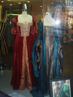 The Other Boleyn Girl - Anne's Blue Peacock Gown