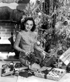 Paulette Goddard Christmas Time