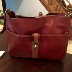 Etienne Aigner brown leather bag Classic leather bag will go with most outfits! Super sexy! Must have! Etienne Aigner Bags Shoulder Bags