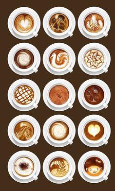 Картинка с тегом «coffee, art, and drink»