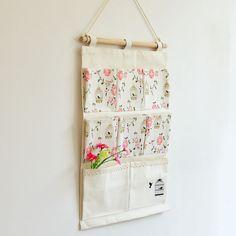 Wall Hanging Organizer Bag Multi-layer Holder Storage Bag Home Decoration Makeup Bags Jewelry Storage Hanging Pocket 8 Pockets #Affiliate