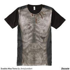 Zombie Man Torso