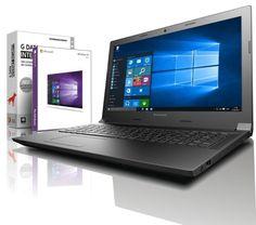 Lenovo Laptop - Intel 4x2.66 GHz - 8GB - 750GB - USB 3.0 - HDMI - Win10 Prof