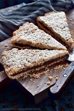 Home-made nutella crumble tart - Sbriciolata alla nutella (vegan)
