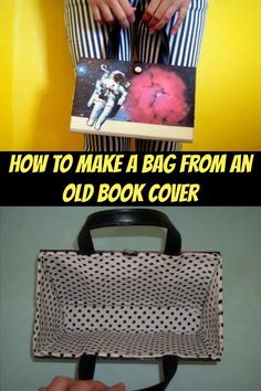 Ingenious idea for how to make a bg from an old book cover. I like this one more than some of the others, because you can use any old book for this, and cover it in fabric to get the style you want. No tearing up beautiful old books, just the ugly ones!