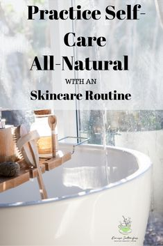 Self-care is a vital component of healthy living. Creating an all-natural skin care routine is a simple yet powerful way to practice self-care.#selfcare #organicskincare #wellness #nofusshealthyliving Face Scrub Homemade, Homemade Skin Care, Homemade Beauty Products, Diy Skin Care, Skin Care Tips, All Natural Skin Care, Organic Skin Care, Facial Care, Self Care
