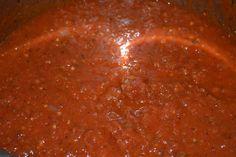 Homemade Spaghetti Sauce in the Crockpot - Mrs Happy Homemaker