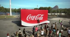 Coca-Cola Creates a Logo You Can Skate on