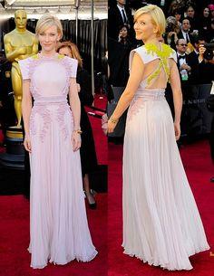Cate Blanchett 2011 Oscars. Givenchy by Ricardo Tisci