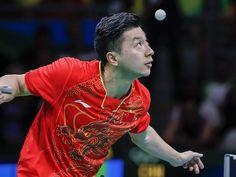 Ma Long vann med 4-0 över landsmannen Zhang Jike.