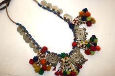 Kuchi tribe pendant necklace.