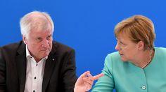 """Seehofer gegen Merkel: """"Ich möchte den Erfolg dieser Union"""""""