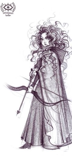 Merida with now and arrow