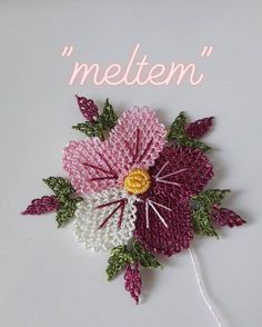 Needle Tatting, Needle Lace, Lace Making, Bargello, Knitted Shawls, Knitting Socks, Crochet Flowers, Baby Dress, Hand Embroidery