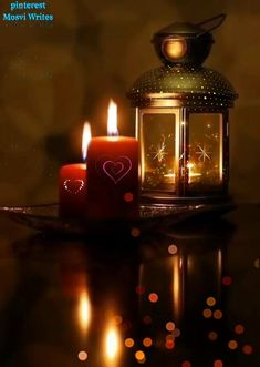Romantic Night Images, Good Night Love Images, Good Night Gif, Merry Christmas Gif, Christmas Scenery, Christmas Wishes, Floating Candles, Diy Candles, Beautiful Gif