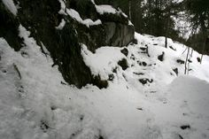 Sentier Carrière, Mont Saint-Grégoire, Québec, décembre 2016 Saint Grégoire, Outdoor, Mountains, Pathways, Outdoors, Outdoor Games, The Great Outdoors