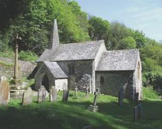 this is supposedly the smallest church in England (35 ft long!) you reach it after a GORGEOUS 2 mile walk from Porlock Weir, on the way I heard and saw a couple Ravens, made the walk so much more enchanting.....ah memories!!
