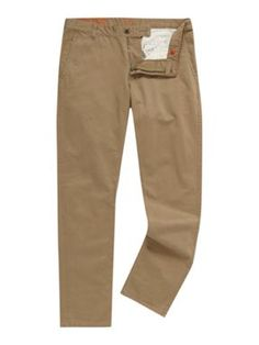 Dockers Alpha khaki tapered straight fitted chino`s Khaki - House of Fraser