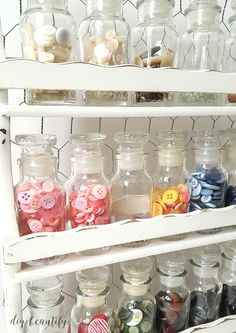 Creative storage for buttons