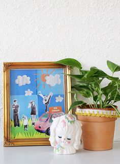 DIY Family Photo Collage