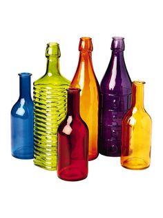 Colorful Bottles   Buy from Gardener's Supply
