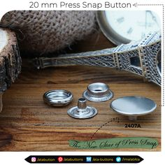"In addition to the press snap buttons we are currently producing, we have started the production of   ""20 mm Press Snap Button Cap""  The areas of use for this particular caps are of those fabrics, which require a strong hold as such jackets and coats.  #Textile #atabuttons #snapbuttons #prongsnapbuttons #accesorries #textileaccessories #Turkey"