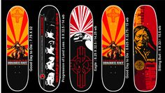 WOUNDED KNEE Decks