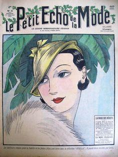 1930s fashion   Tumblr  Le Petit Echo de la Mode 17 January 1932