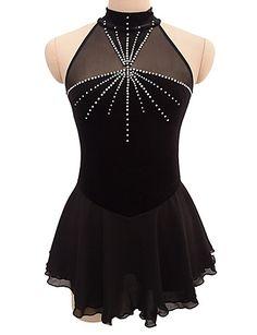 Do you think I should buy it? Figure Skating Competition Dresses, Figure Skating Outfits, Figure Skating Costumes, Figure Skating Dresses, Dance Outfits, Dance Dresses, Girl Outfits, Skate Wear, Roller Derby