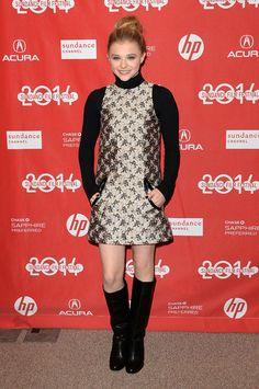 Black turtleneck and dress
