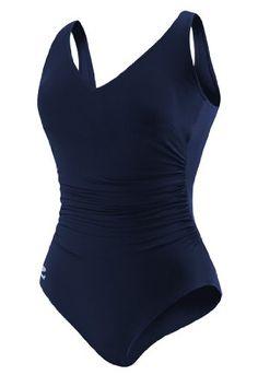 e67fc74d2d462 Speedo Women s Plus-Size Endurance Plus Side Shirred Tank Swimsuit