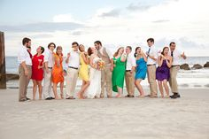 Rainbow Bridesmaids, The Real Ridiculous Party by RainbowStar876, via Flickr