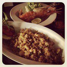 Nasi goreng udang galah aston city hall #kuliner #medan