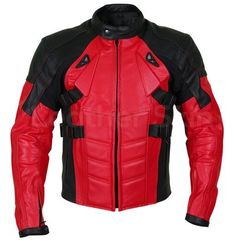 New Handmade Men Red Motorcycle Padded Genuine Cow Leather Jacket XS to 2019 sold by Urban footwear. Shop more products from Urban footwear on Storenvy, the home of independent small businesses all over the world. Purple Leather Jacket, Long Leather Coat, Leather Skin, Biker Leather, Cow Leather, Leather Jacket Man, Black Leather, Leather Jackets For Sale, Stylish Jackets