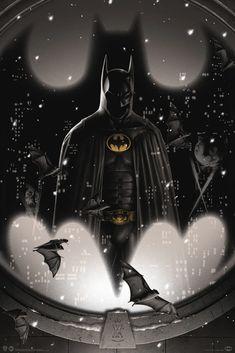 Marvel Dc, Dark Knight Wallpaper, Batman Returns 1992, Dc Comics, Silkscreen, Matt Ryan, Batman Artwork, Batman Universe, Dc Universe