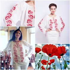 Un camp de maci pe ‪ ‪ ‪ Cool Outfits, Amazing Outfits, Romania, Long Sleeve, Sleeves, Label, Blouses, Fashion, Moda