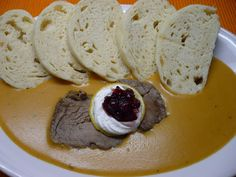 Food you need to try in Czech Republic - Food you should try Czech Recipes, Ethnic Recipes, Jaba, Camembert Cheese, Dairy, Cooking Recipes, Ice Cream, Pudding, Menu