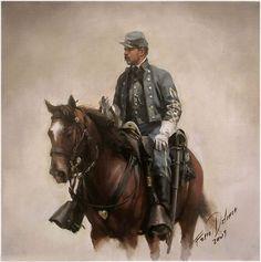 Augusto Ferrer Dalmau. Confederado. Más en www.elgrancapitan.org/foro