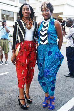 Street Style Lagos - As seen during Lagos Fashion Week