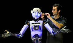 RoboThespian robot...