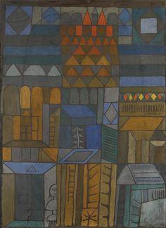 Paul Klee (1879-1940) was een Duits-Zwitserse kunstschilder die figuratieve schilderijen maakte met een uitgebalanceerde kleurtechniek. Zijn werk behoort tot de moderne kunst.