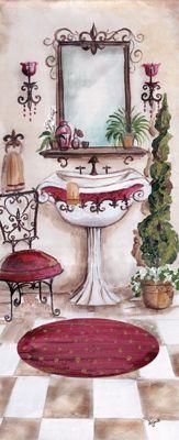Tre Sorelle Studios: 'French Bath II'