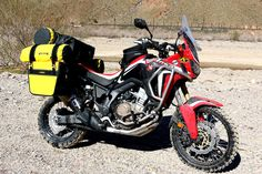 New for 2017 - Rigg Gear Deluxe Adventure 100% Waterproof Dry Saddlebags - Honda CRF1000L Africa Twin Forum