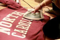 DIY College Sweatshirt