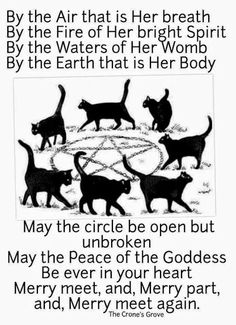 To Open the Sacred Circle when the Ritual is finished. Wiccan Witch, Wicca Witchcraft, Magick Spells, Moon Spells, Green Witchcraft, Tarot, Which Witch, Witch Spell, Practical Magic