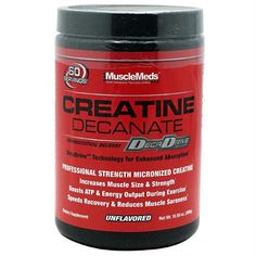 Muscle Meds Creatine Decanate Unflavored  #healthybyhabit #healthy #vitamins #nutrition